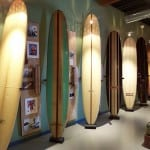 Vintage Surfboards at the California Surf Museum in Oceanside CA
