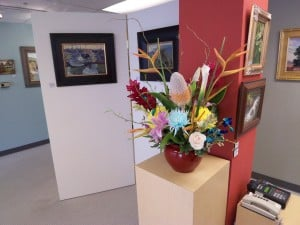 Art Work at the Front Porch Gallery in Carlsbad Village, Carlsbad CA