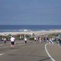 Carlsbad Marathon along the Coast Road in Carlsbad CA
