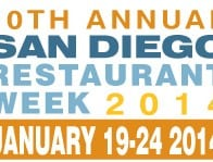 San Diego Restaurant Week 2014