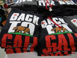 Back to Cali sweatshirts