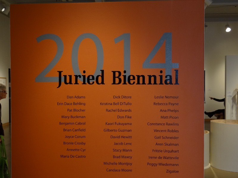 Cannon Art Gallery Juried Biennial Exhibition