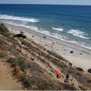 Beacon's Beach in Encinitas CA
