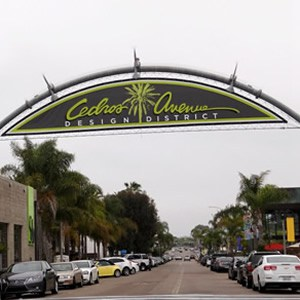 Cedros Design District in Solana Beach CA