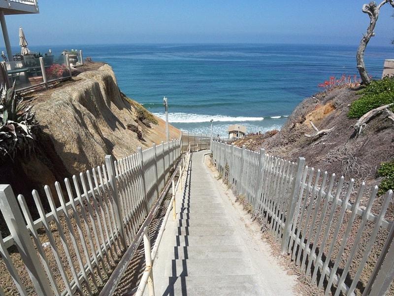 Encinitas Beach Stairs