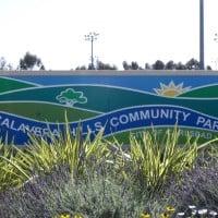 Calavera Hills Park sign