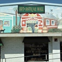 The Carlsbad Art & Antique Mall in Carlsbad Village