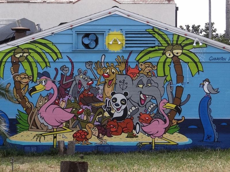Newest Carlsbad Art Wall in Carlsbad Village At Home In Carlsbad