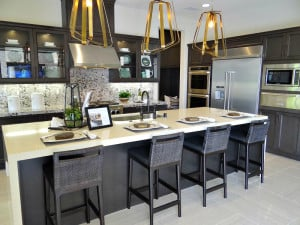 Model Kitchen at The Vistas in Carlsbad