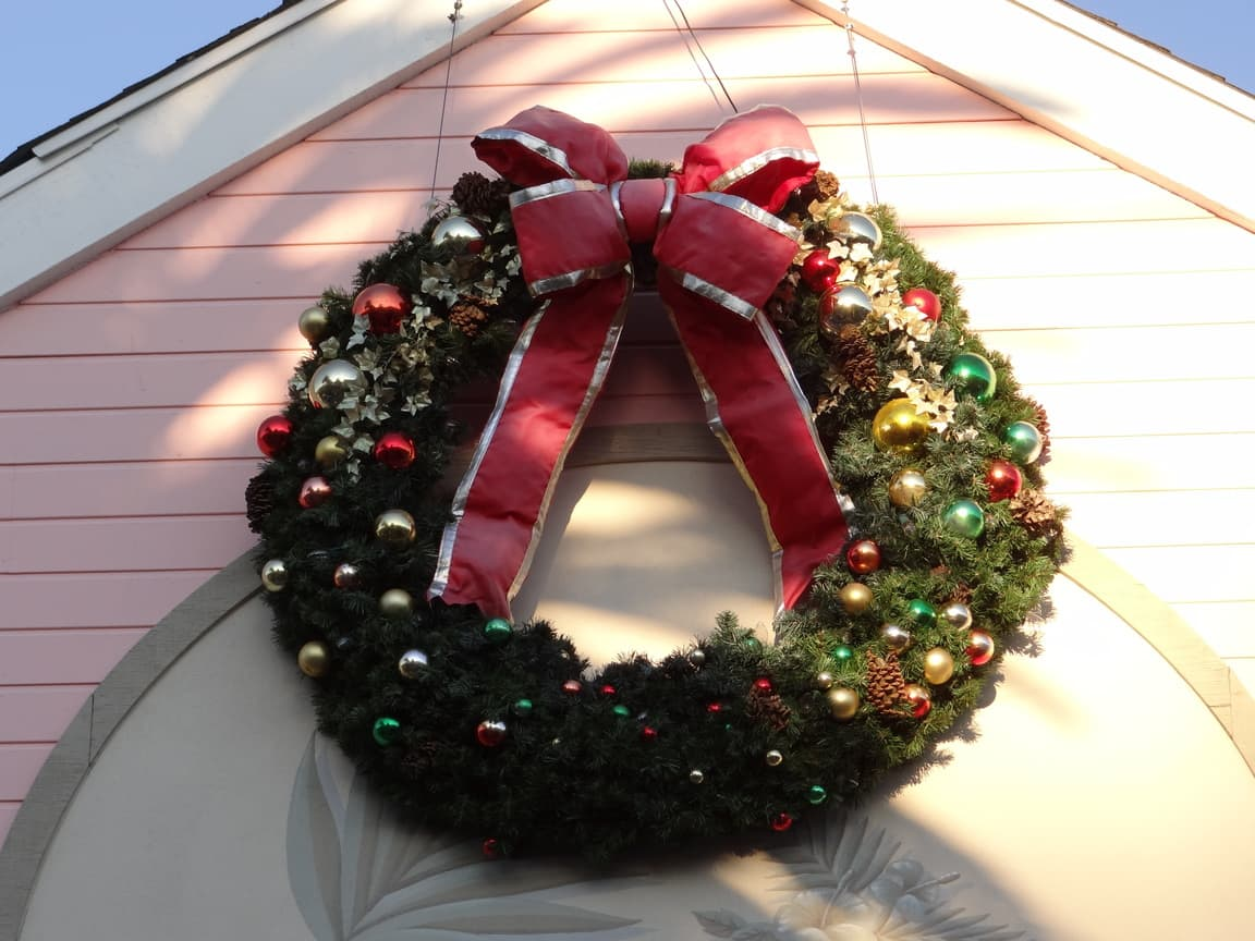 Holiday Decorations in Carlsbad Village