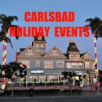 Holiday Events in Carlsbad Village graphic