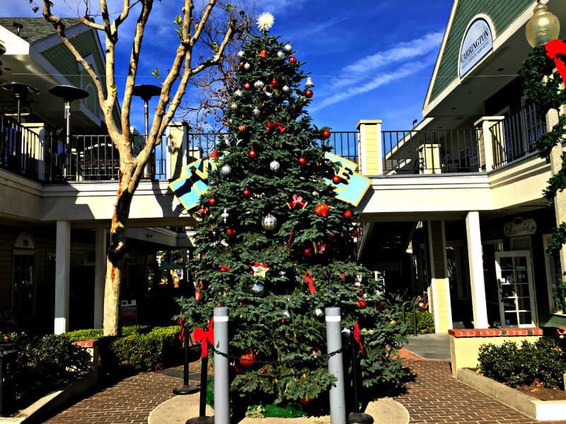 2018 Holiday Tree in Carlsbad Village