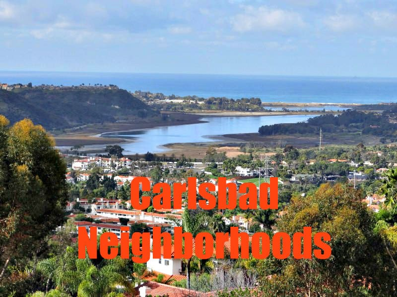 Carlsbad Neighborhoods graphic