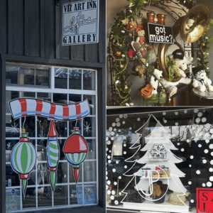 Holiday Window Decorating Contest in Carlsbad Village