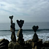 Heart Stone Sculpture in Carlsbad