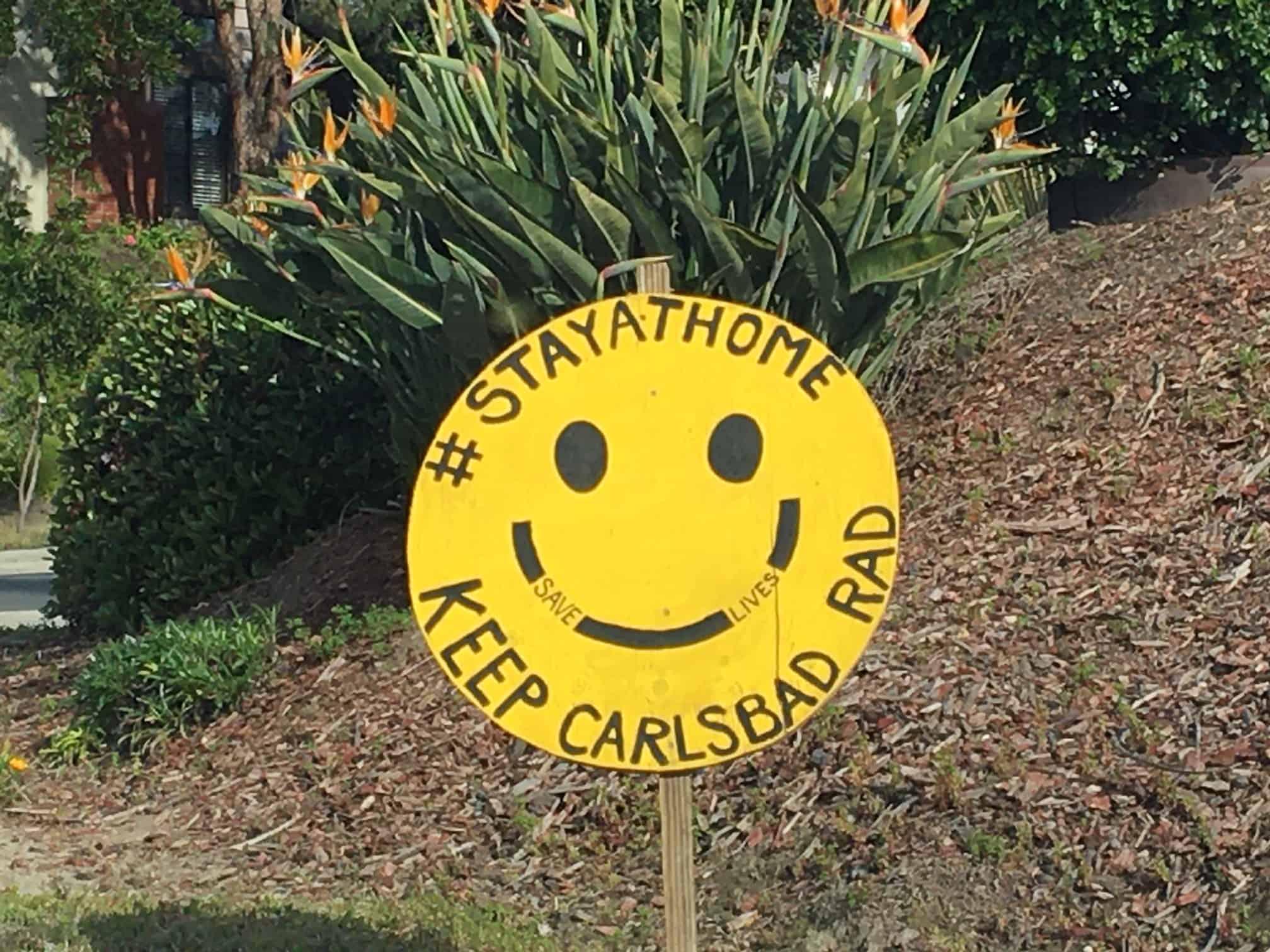 Stay at Home - Keep Carlsbad Rad