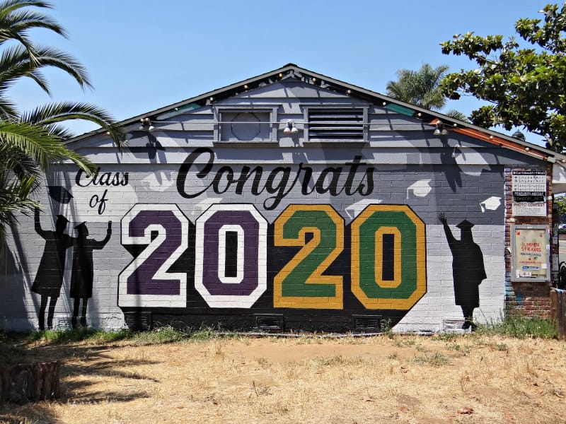Carlsbad Art Wall - Congrats to the Class of 2020