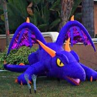 Purple Halloween Monster