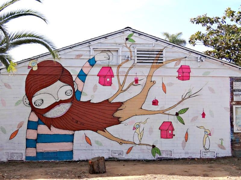 November 2020 Carlsbad Art Wall by Matty Davis
