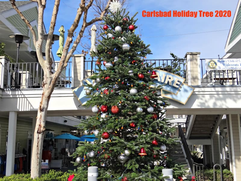 Carlsbad Holiday Tree 2020