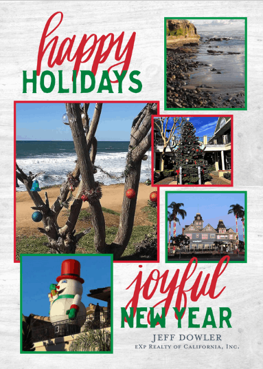 Happy Holidays card from Jeff Dowler