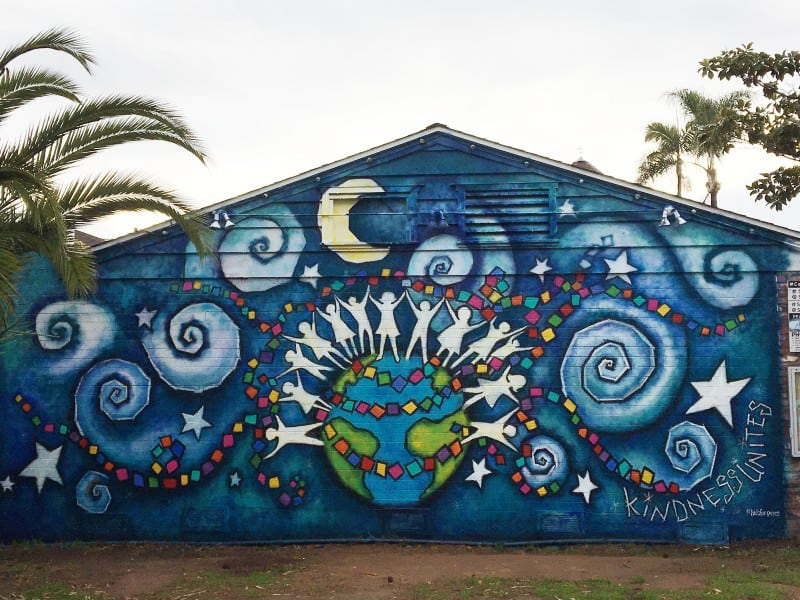 January 2021 Carlsbad Art Wall mural