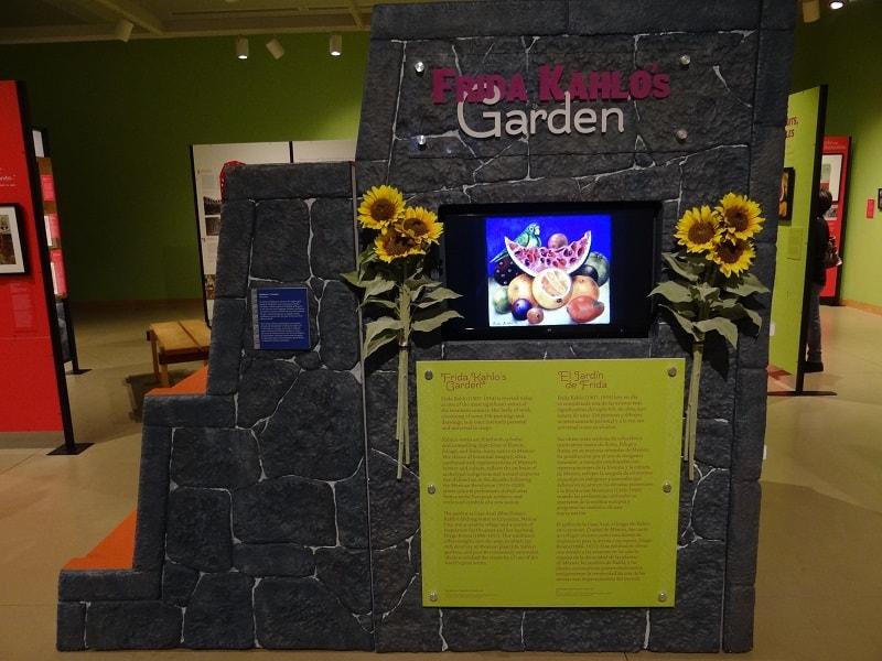 Frida Kahlo's Garden exhibit
